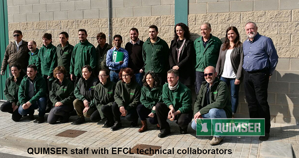 Quimser staff & EFCL technical collaborators