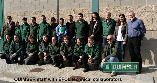 Quimser staff & EFCL technical collaborators