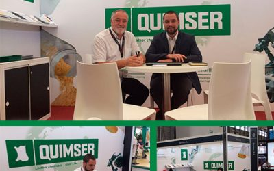Quimser at All China Leather Exhibition (ACLE) 2017