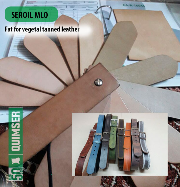 SEROIL MLO, fat for vegetal tanned-leathers