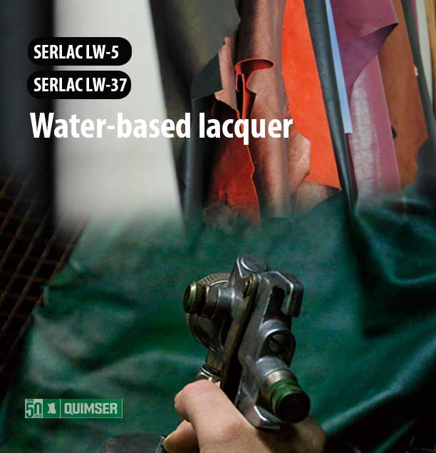SERLAC LW-5 and SERLAC LW-37: Water-based lacquer