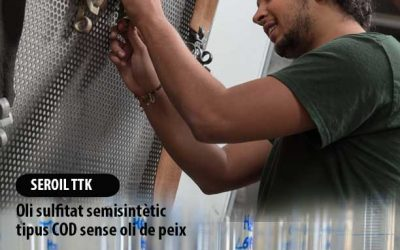 SEROIL TTK: oli sulfitat semisintètic tipus COD sense oli de peix