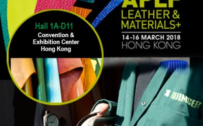 Us esperem a APLF LEATHER & MATERIALS Exhibition
