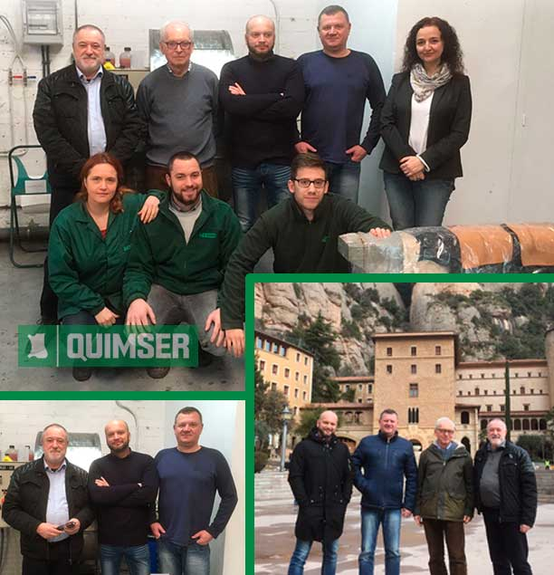 JARBUR-CHEM SC, our distributors in Poland, visit Quimser