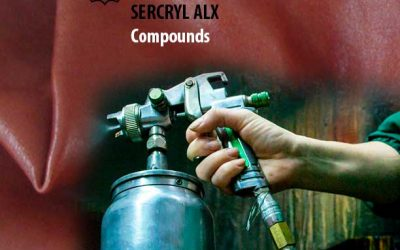 SERCRYL AFR, SERCRYL R-28 and SERCRYL ALX compounds for finishing