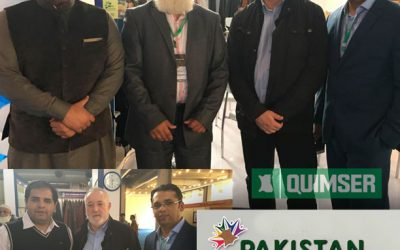 Quimser a la Fira Mega Leather Show de Pakistan