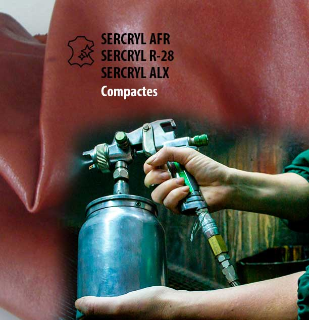 SERCRYL AFR, SERCRYL R-28 i SERCRYL ALX són compactes per a acabats