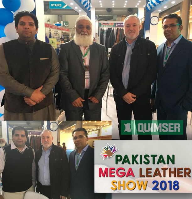 Quimser at Pakistan Mega Leather Show 2018