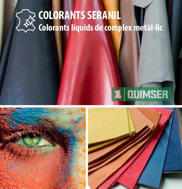 Colorants Seranil: Colorants líquids de complex metàl·lic
