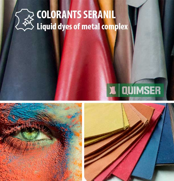 COLORANTS SERANIL: Liquid dyes of metal complex