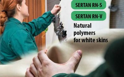 SERTAN RN-S & SERTAN RN-V are natural polymers for white skins