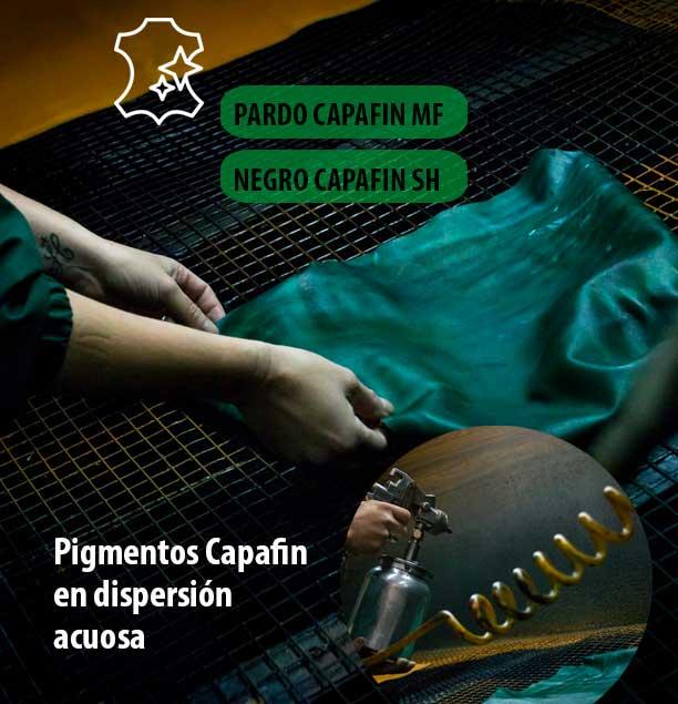 Pigmentos Capafin en dispersión acuosa