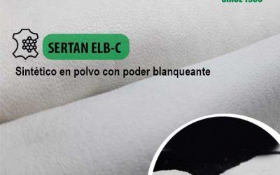 Hemos mejorado las características de SERTAN ELB-C, sintético en polvo con poder blanqueante