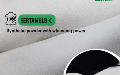We have improved the properties of SERTAN ELB-C a synthetic powder with whitening power
