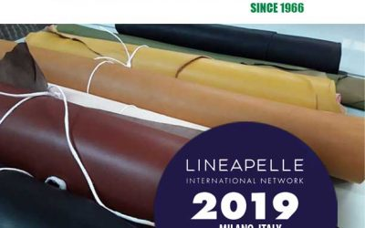 We will be happy to receive you at Lineapelle 2019