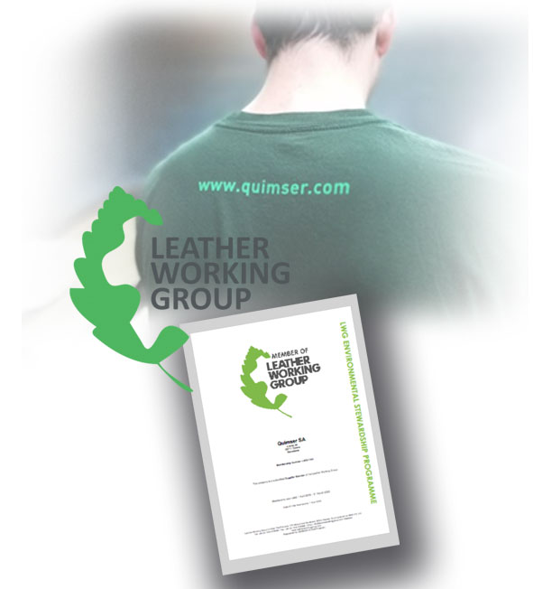 We are proud to be part of the Leather Working Group membership