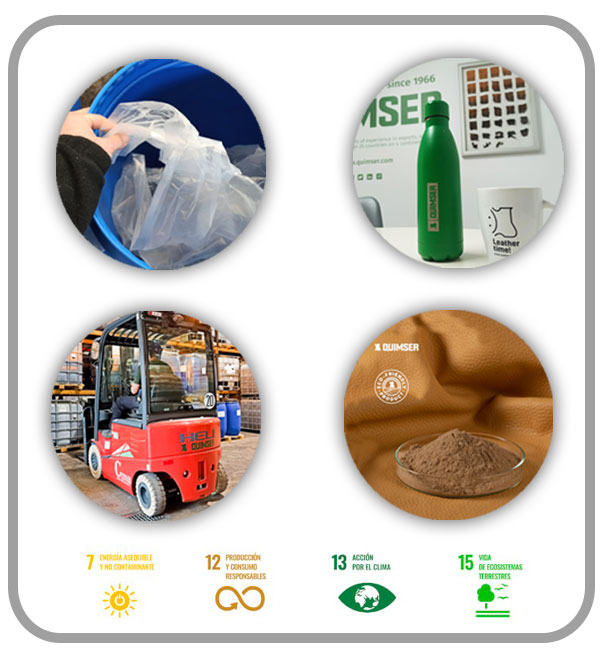 Quimser complies with sustainable development goals